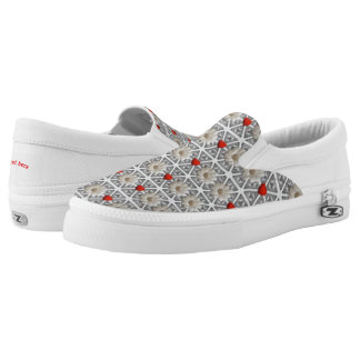 Hearts and flowers Slip-On shoes