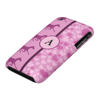 hearts and horses iPhone 3 Case-Mate cases