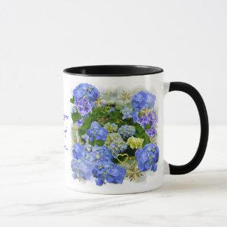 Hearts and Hydrangeas Mug