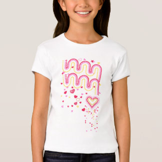 Hearts and rainbows T-Shirt