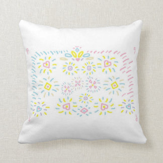 Hearts and Shapes Pillow