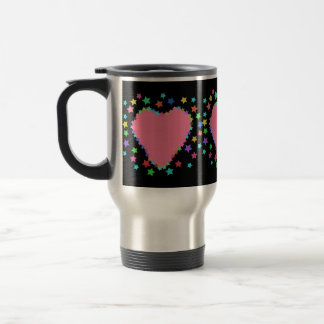 Hearts And Stars Colorful Mug