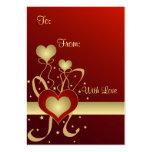 Hearts and stars - Gift tag