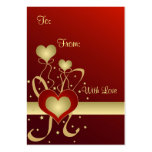 Hearts and stars - Gift tag Pack Of Chubby Business Cards