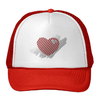 Hearts and Stripes Truckers Cap