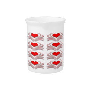 Hearts and Vines Beverage Pitcher