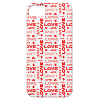 Hearts and Words of Love iPhone 5 Covers