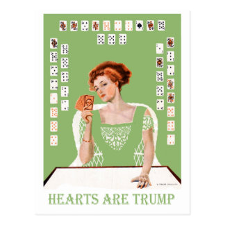 Hearts are Trump! Postcard