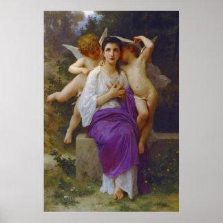 Heart's Awakening 1892 Poster