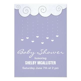 Hearts Baby Shower Invitations