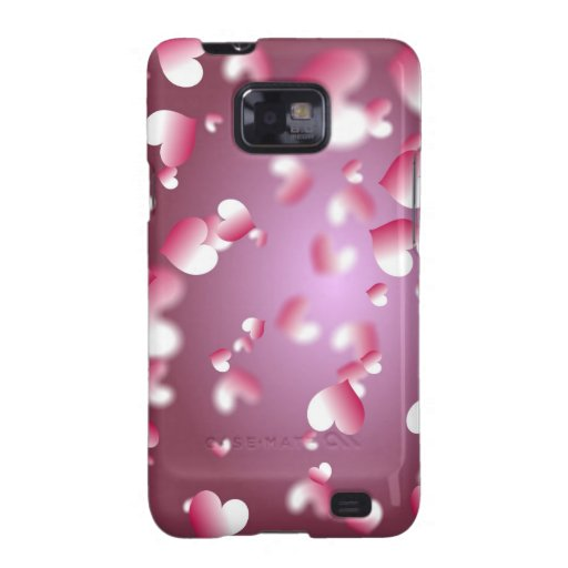 Hearts Background Samsung Galaxy Cover