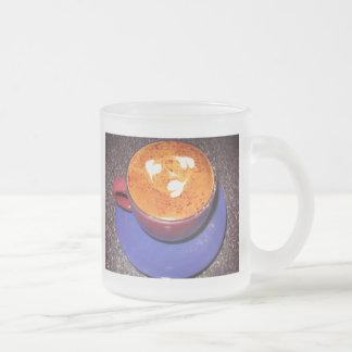 Hearts Cappuccino Love Heart Get Well Miss You Coffee Mug