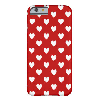 Hearts Barely There iPhone 6 Case