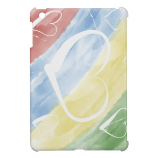 hearts & colors cover for the iPad mini