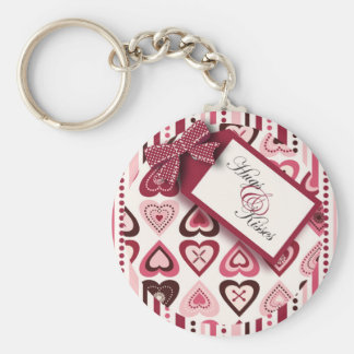 Hearts Confection Keychain