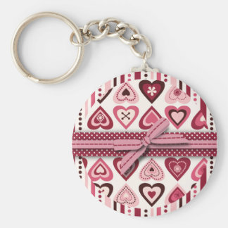 Hearts Confection Keychain IV