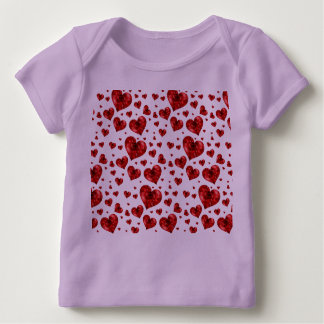 Hearts Crib Love Design Class Baby Shower Destiny Baby T-Shirt