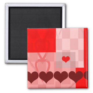 Heart's Desire Square Magnet