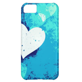 Hearts - Electric Blue ! iPhone 5C Case