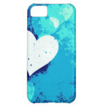 Hearts - Electric Blue ! iPhone 5C Covers