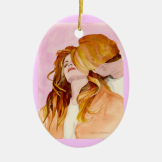 Hearts Expression Christmas Ornament