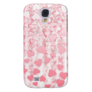 Hearts falling from sky Valentine's day 3 Galaxy S4 Case