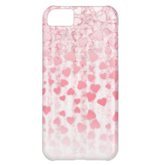 Hearts falling on you Valentine's day iPhone 5 iPhone 5C Case