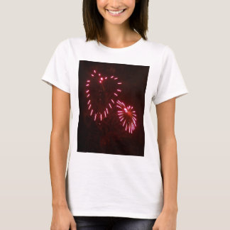 hearts fireworks T-Shirt