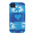 Hearts & Flowers Case-Mate iPhone 4 Cases