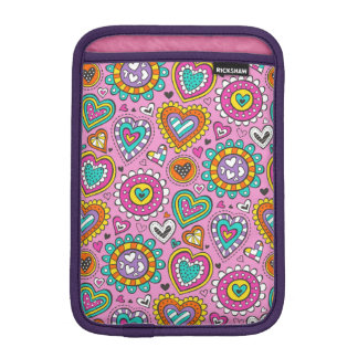 Hearts&Flowers iPad Mini Sleeve