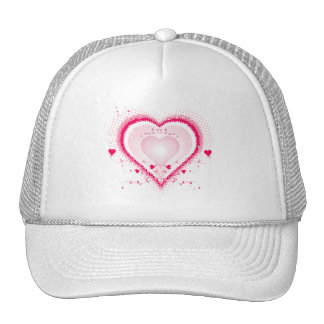 Hearts for the St Valentine s day - Mesh Hats