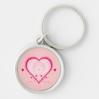 Hearts for the St. Valentine's day - Keychains