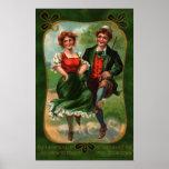 Hearts Full Of Joy St. Patrick's Day Poster