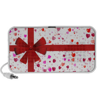 Hearts Gift Wrap Speaker System