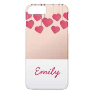 Hearts hanging rope iPhone 8 plus/7 plus case