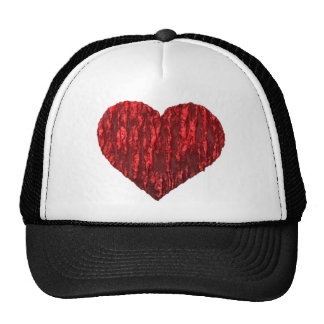 Hearts! Mesh Hat