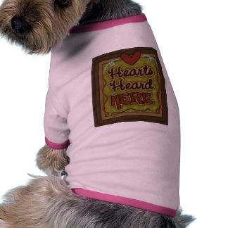 Hearts Heard Dog T-shirt