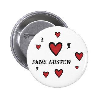 hearts, hearts, hearts, head, hearts, hearts, h... 6 cm round badge