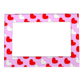 Hearts in Love 4Shirley Photo Frame Magnet