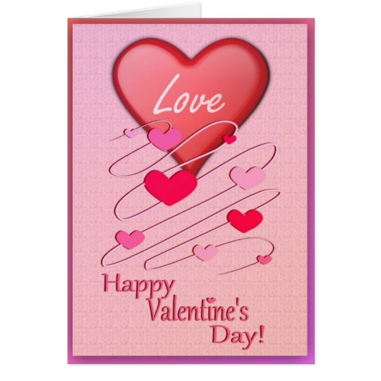 Hearts In Love Greeting Card