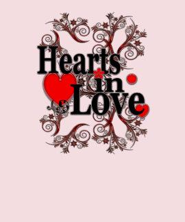 Hearts in Love T-shirt