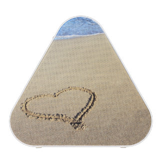 Hearts In The Beach Sand Speaker