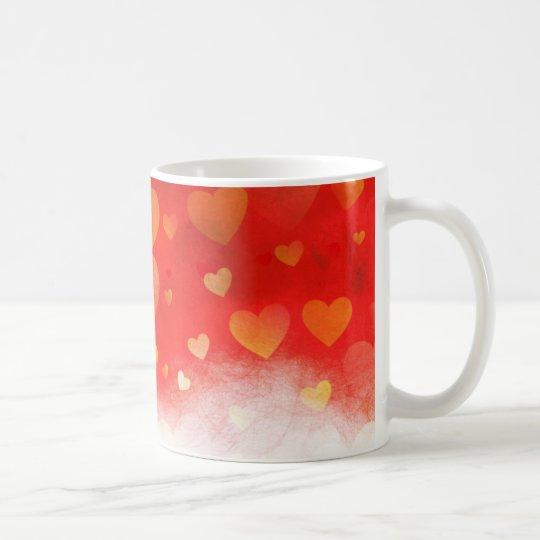 Hearts in the Mist Coffee Mug