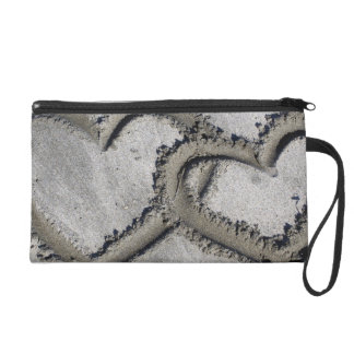 Hearts in the Sand Wristlet Purse