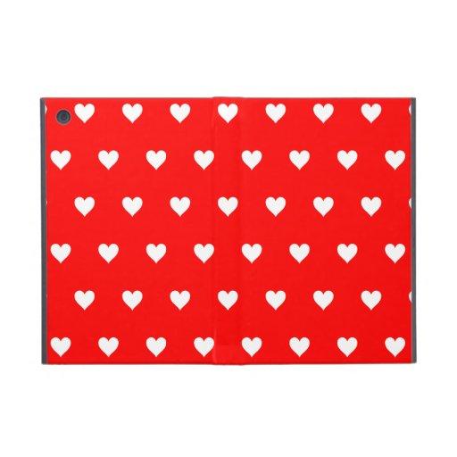 Hearts Cover For iPad Mini