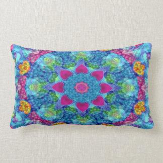 Hearts Kaleidoscope Pattern Lumbar Pillows