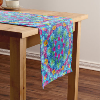 Hearts Kaleidoscope Table Runner