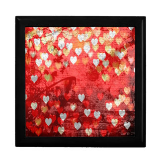 Hearts Large Square Gift Box