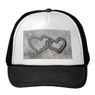 Hearts Linked in the Sand Cap