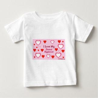 Hearts: Love my Dental Hygienist Tshirt